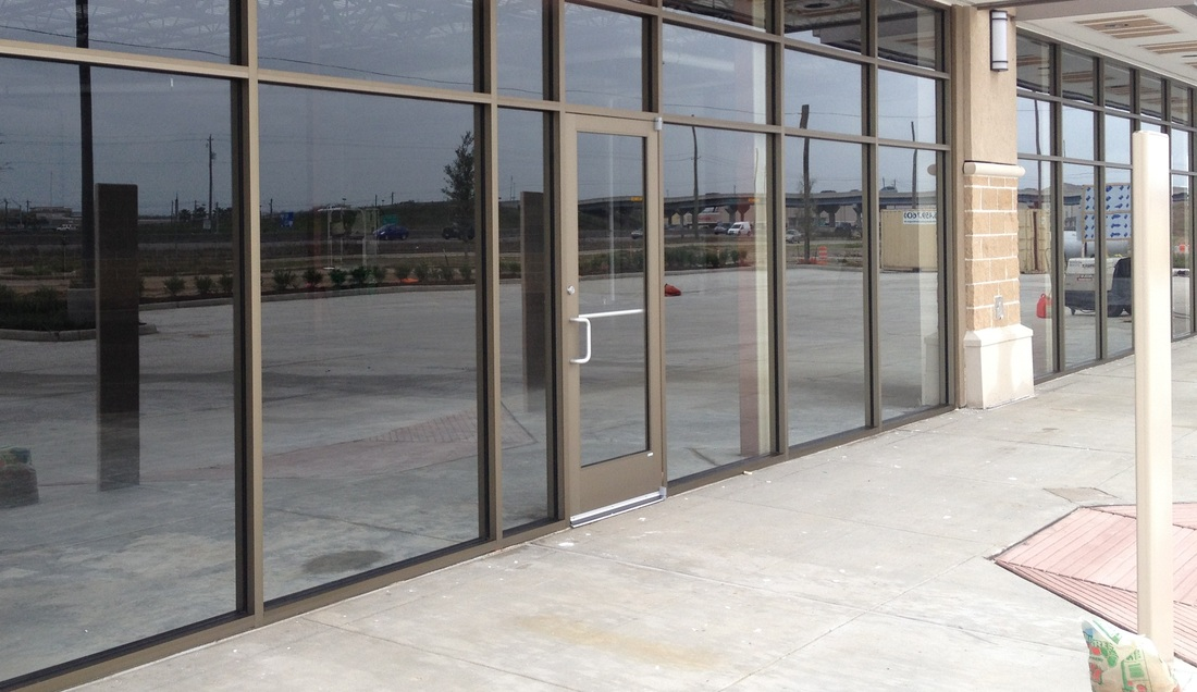 Baybrook Passage Houston Commercial Glass